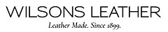 Wilsons Leather. Leather Made. Since 1899.