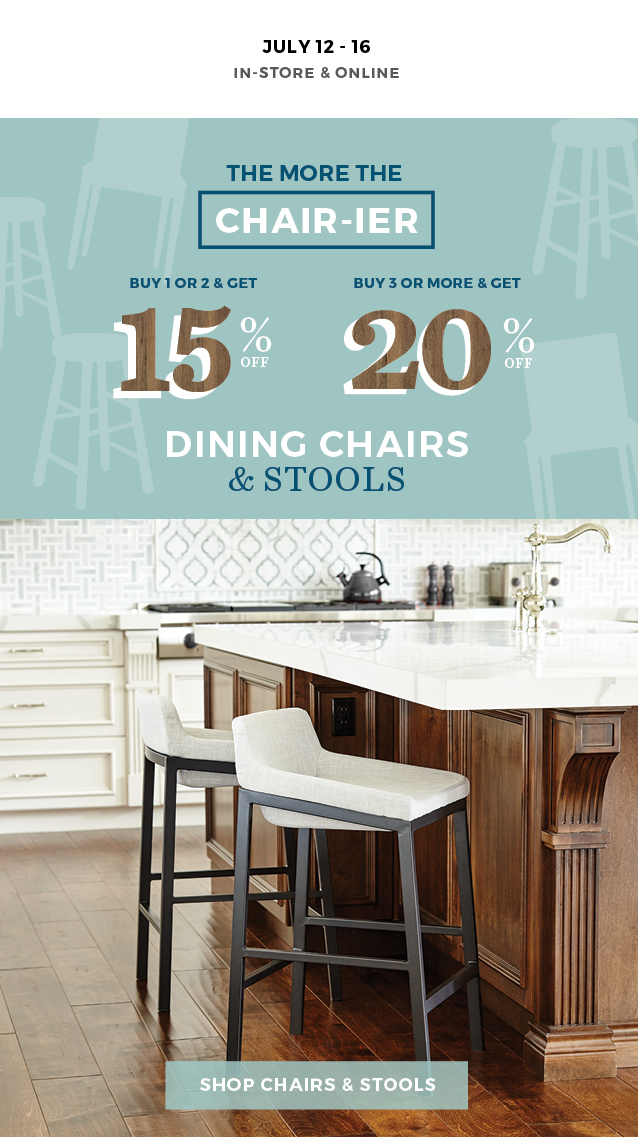 The More The Chair-ier Dining Chairs & Stools