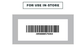 In-store barcode