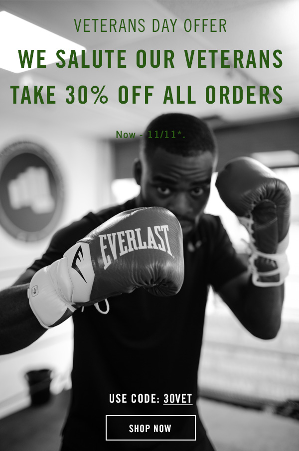 Take 30% off all orders with code 30VET. Exclusions apply.