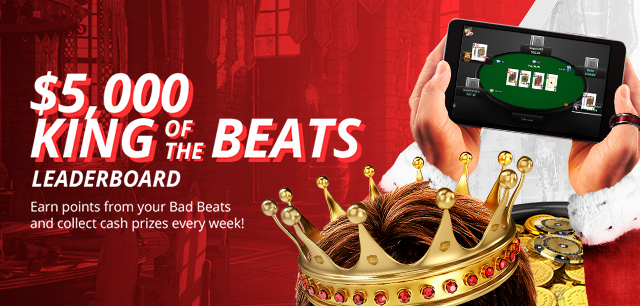 King of the Beats: Earn cash for bad poker beats