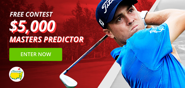 Free Entry: $5,000 Masters Predictor Contest