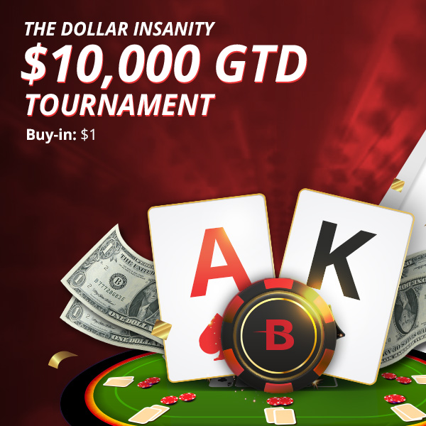 Turn $1 into a huge poker win this Sunday
