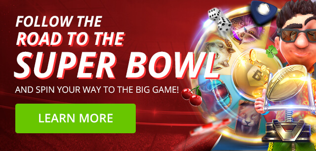 Super Bowl Slots: 100 Free Spins + $100 Free Bet