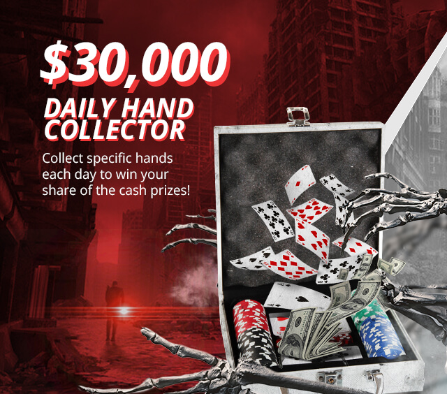 $30,000 Daily Hand Collector