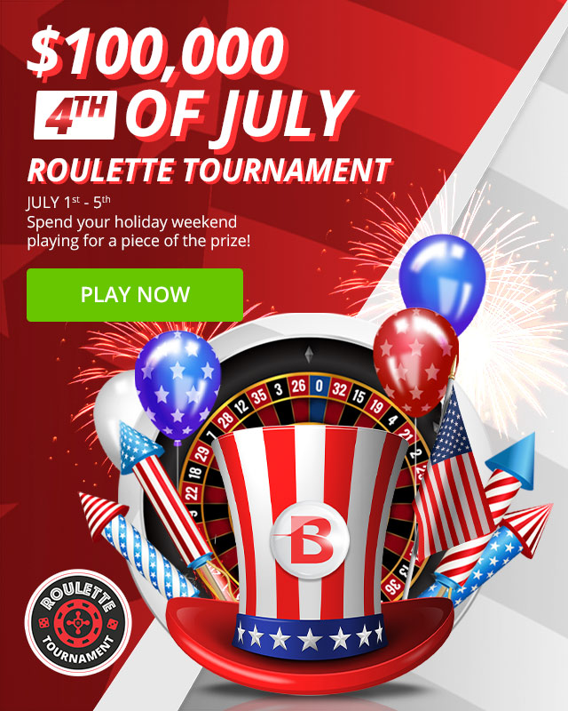 Free Entry - $100,000 Roulette Tournament