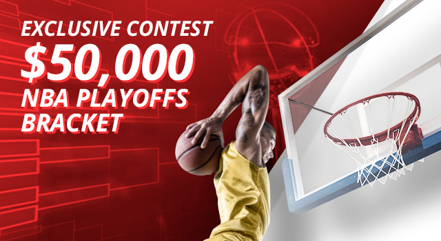 Exclusive Contest $50,000 NBA Playoffs Bracket
