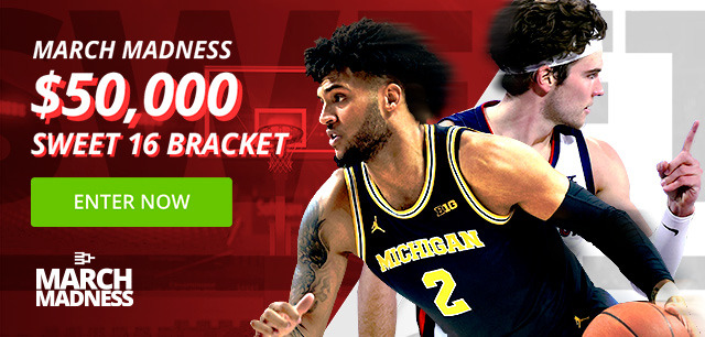 Enter our $50,000 Sweet 16 Bracket Contest