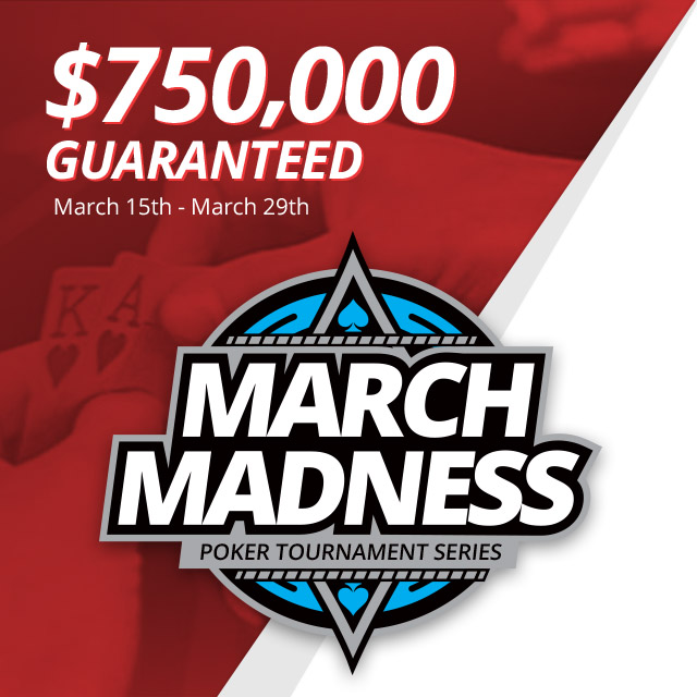$750,000 in Guaranteed Prize Money