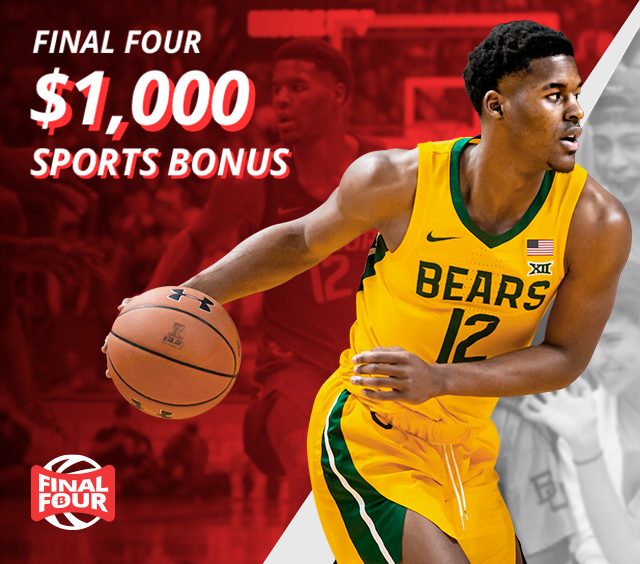 Bet on the Final Four with a $1,000 bonus