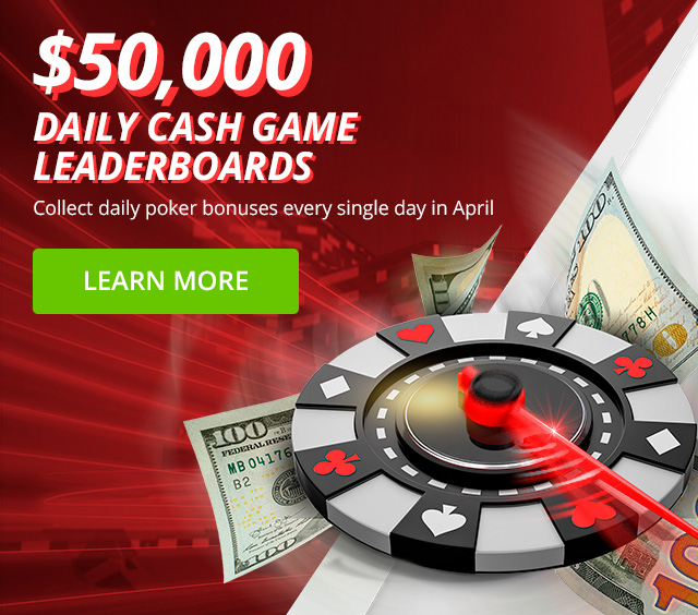 Grab a share of $50,000 in poker leaderboard prizes