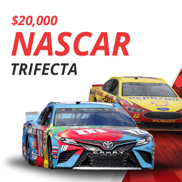 Dash For Cash! Free $20,000 NASCAR Contest