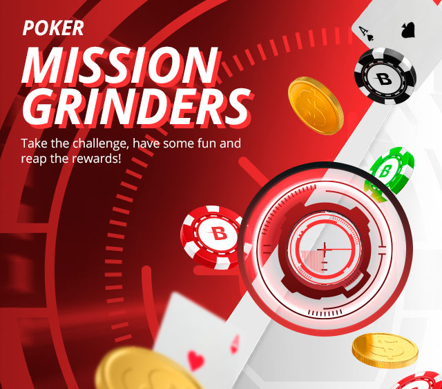 $50,000 in prizes for completing poker missions