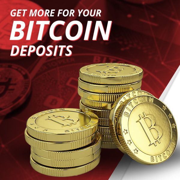 Receive 5% Above Market Price On Bitcoin Deposits