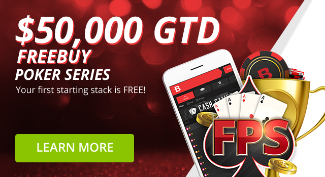 Last chance to play $50,000 Guaranteed Freebuy Poker