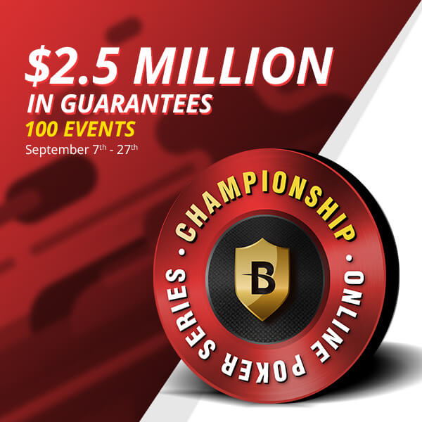 $2.5 Million Poker Series: Be our next big winner