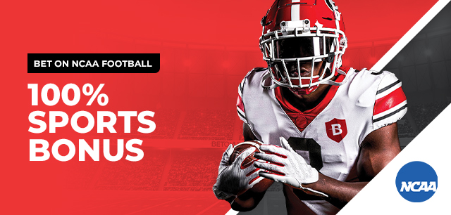 Bet on NCAA Football with an exclusive bonus offer