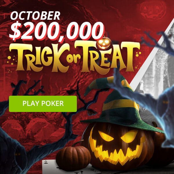 Trick or Treat: $200,000 in Poker Rewards