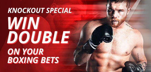 Bet boxing and double your winnings this Saturday