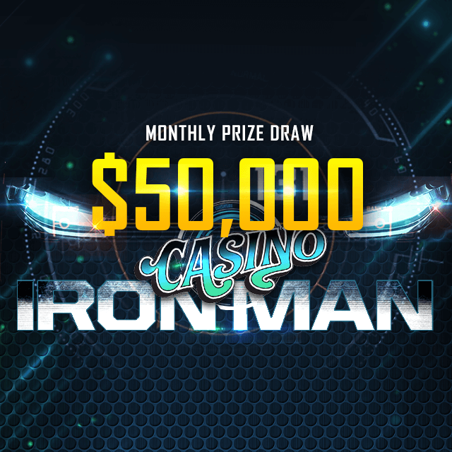 Casino Iron Man Contest