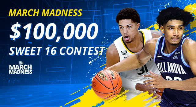 Enter Our $100,000 Sweet 16 Contest