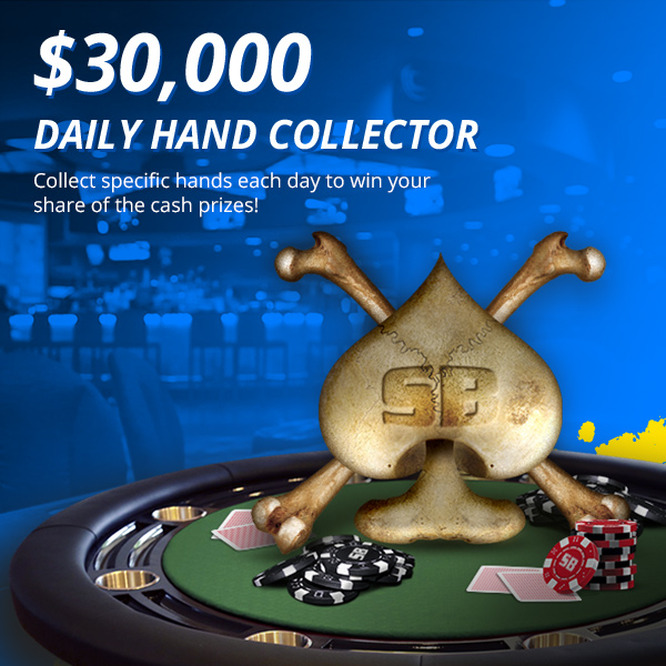 Announcing our special $30,000 Daily Hand Collector
