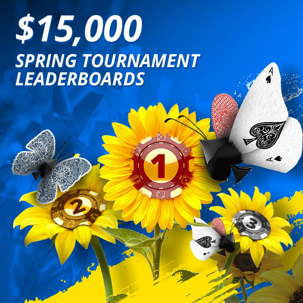 $15,000 Spring Tournament Leaderboards