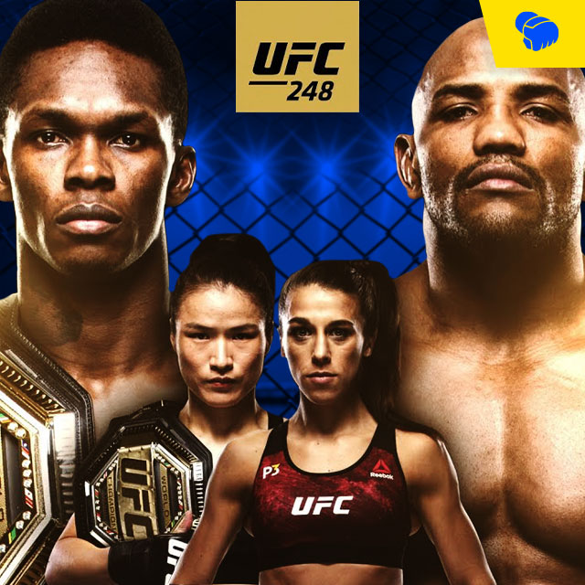 UFC 248 Brings the Heat