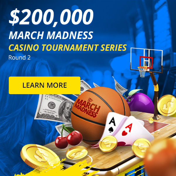 $200,000 March Madness Casino Tournament Series