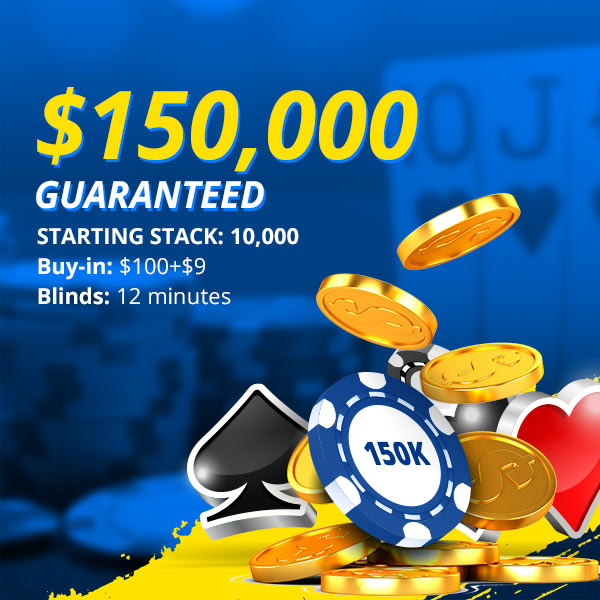 Sunday's $150,000 Guaranteed Poker Main Event