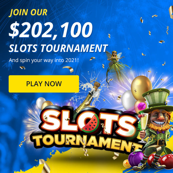 Join our free $202,100 Slots Tournament