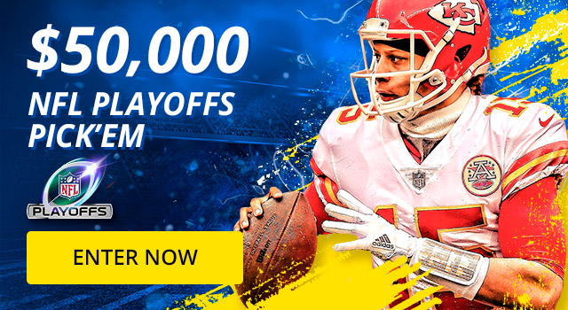 Last chance to enter our NFL Playoff contest