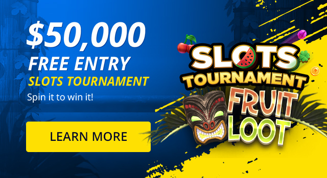 Free Entry - $50,000 Slots Tournament