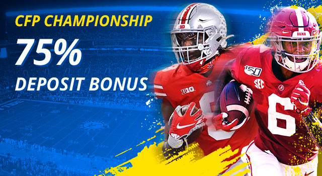 Get a $1,000 bonus to bet on Alabama-Ohio State