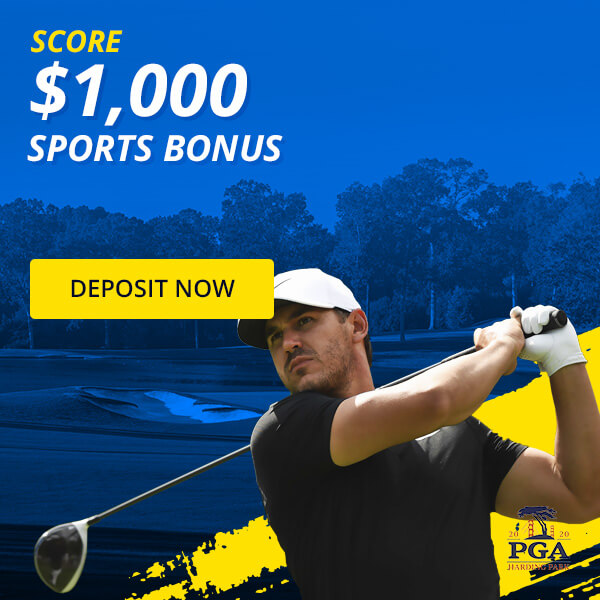 Bet PGA + 50% up to $1,000 Deposit Bonus