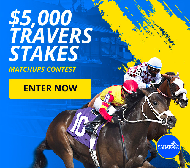 $5,000 Travers Stakes Matchups Contest + Exclusive Bonus + $10,000 Refer-a-Friend Leaderboard
