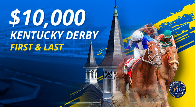 Kentucky Derby Exclusive: $10,000 up for grabs