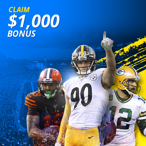 Bet on the NFL with $1,000 in house money