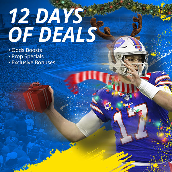 Exclusive offer: 12 days of holiday betting deals