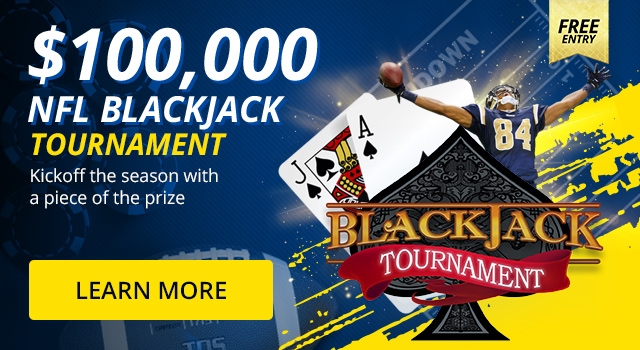 FREE ENTRY - $100,000 Blackjack Tournament
