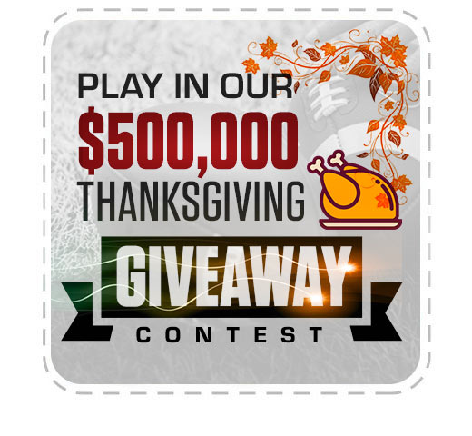 Play on our ThanksGiving Contest