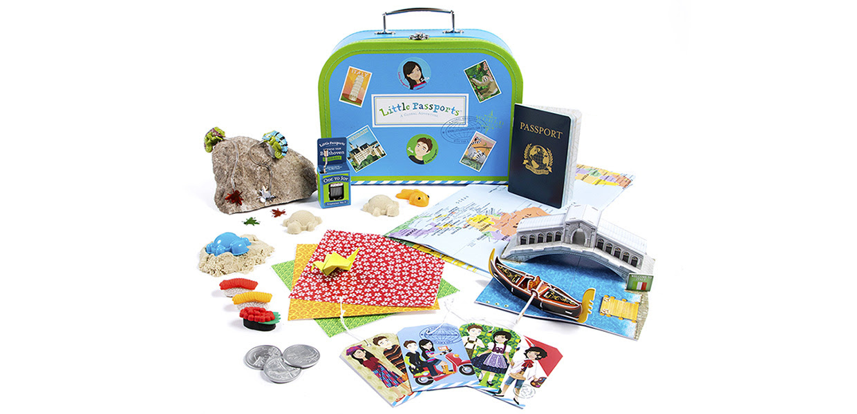 Explore the world, one country at a time, with our fun and educational subscription!