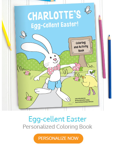 Egg-cellent Easter Personalized Coloring Book