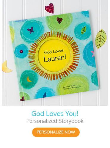 God Loves You! Personalized Storybook