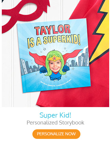 Super Kid Personalized Storybook