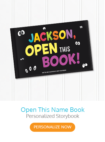Open This Name Book Personalized Storybook