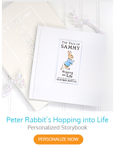 Peter Rabbit's Hopping into Life Personalized Storybook