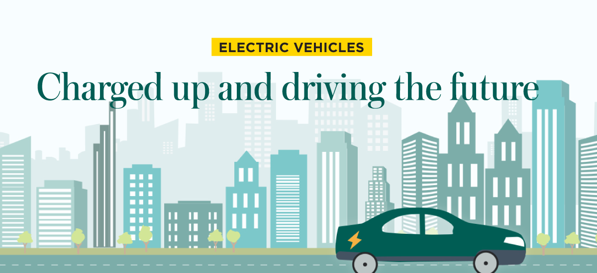 Electric Vehicles - Charged up and driving the future