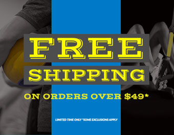 Free Online Shipping on orders over $49!
