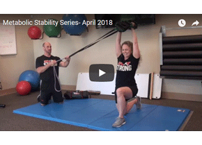Metabolic Stability: The Overhead Press